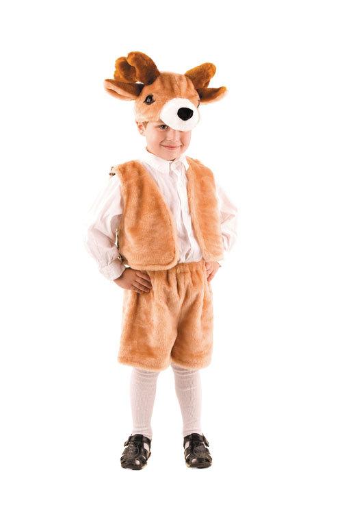 Костюм детский на новый год олень