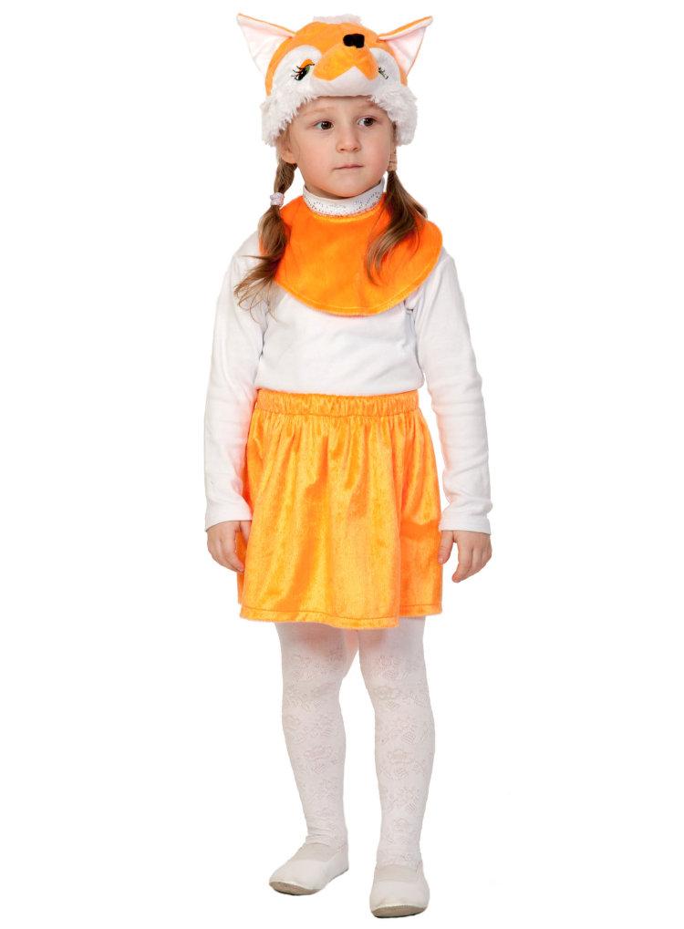 Лисичкасестричка карнавальный костюм для девочки
