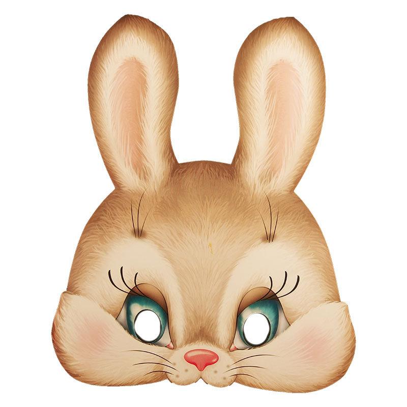 Как сделать голову зайца на голову
