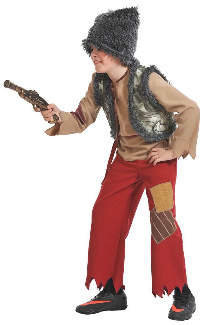 Костюм для мальчика разбойника на новый год своими руками