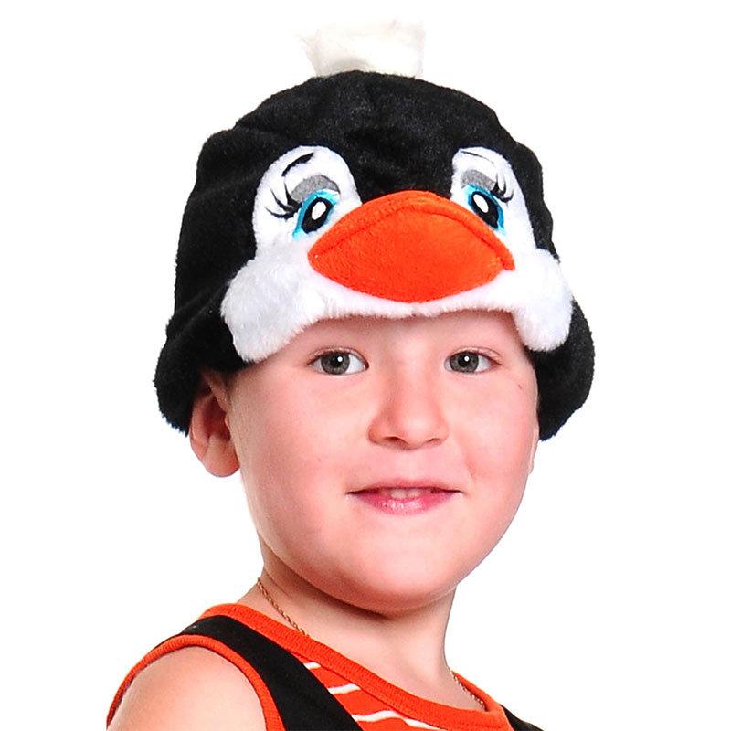 Как сделать шапочку пингвина