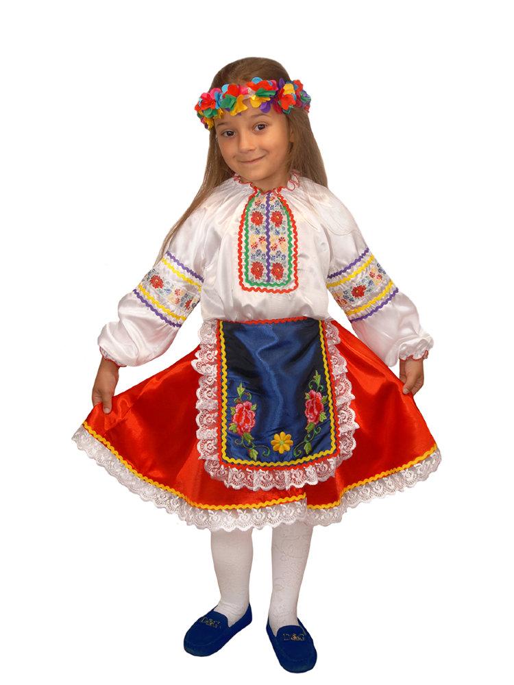 Костюм украинки для девочки 76
