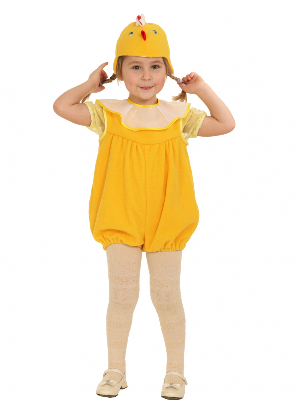 Выкройка костюма цыпленка для девочки своими руками