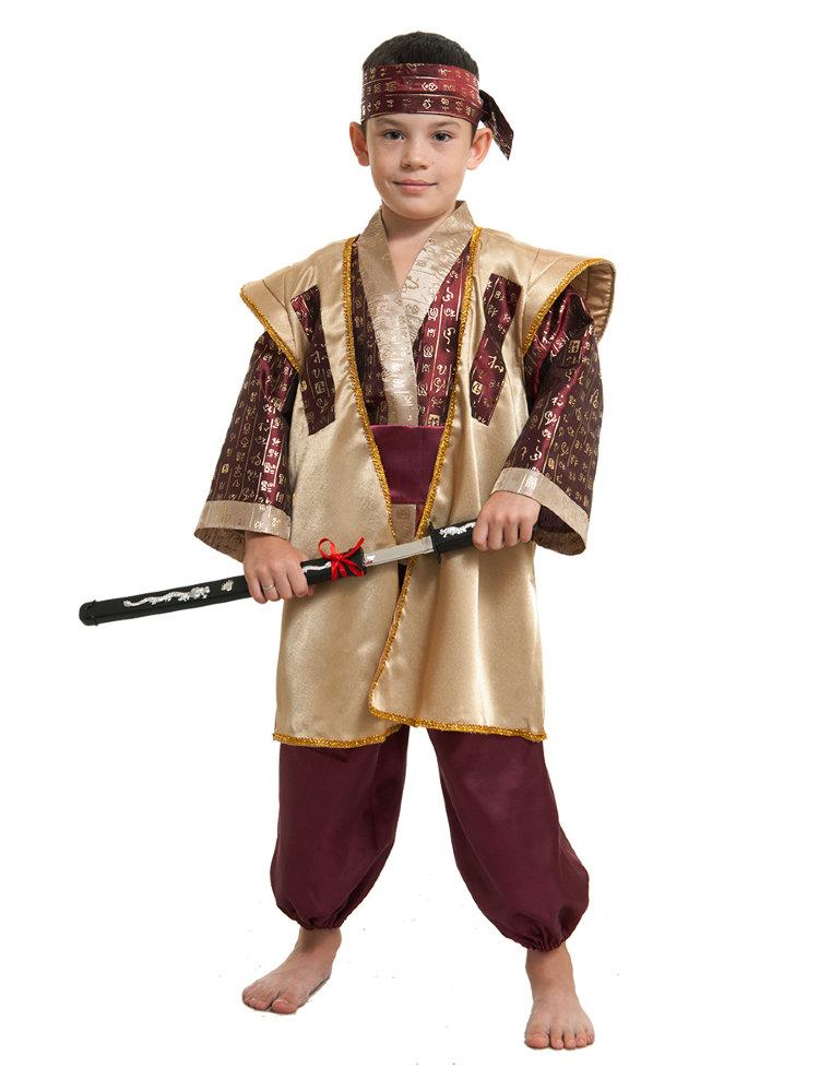 Костюм японца своими руками для мальчика