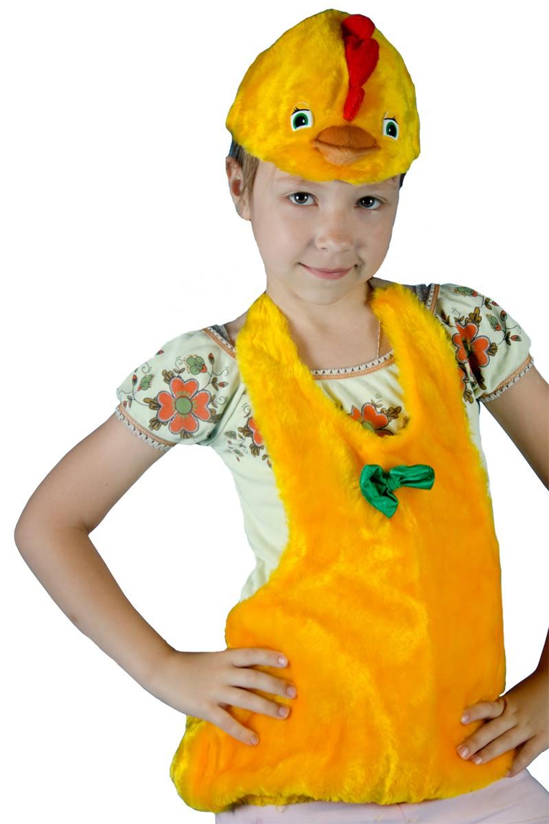Как сделать костюм цыпленка для девочки
