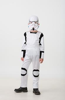 Детский костюм Робот белый 5229-1