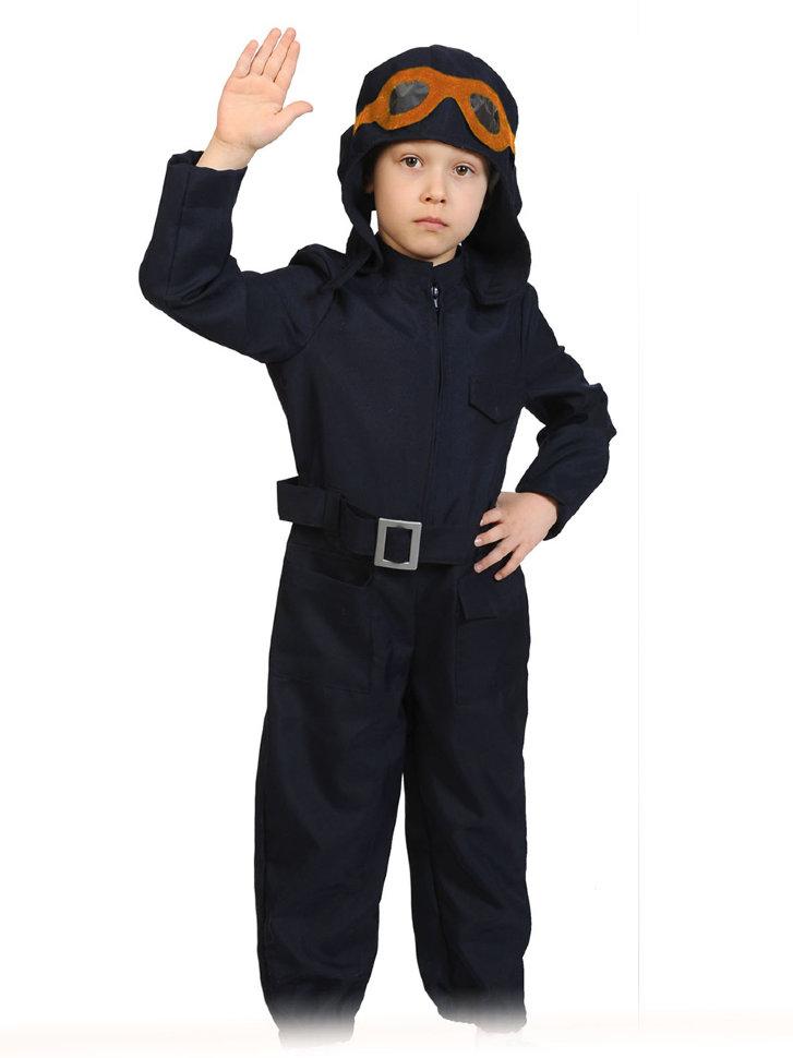 Костюм летчик детский – лаконичный и в то же время эффектный образ пилота.