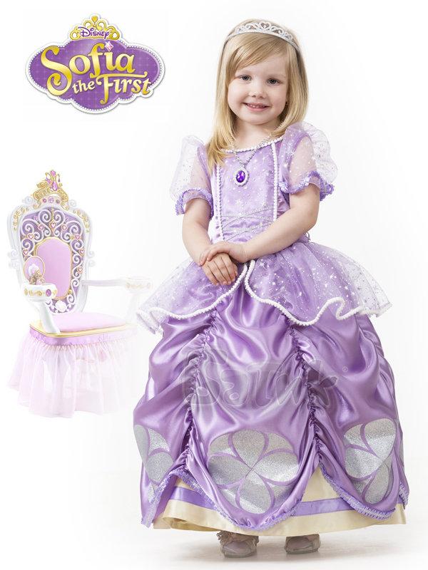 3db0824a08a7d38 Костюм принцесса София прекрасная Б-7067 - купить в интернет ...